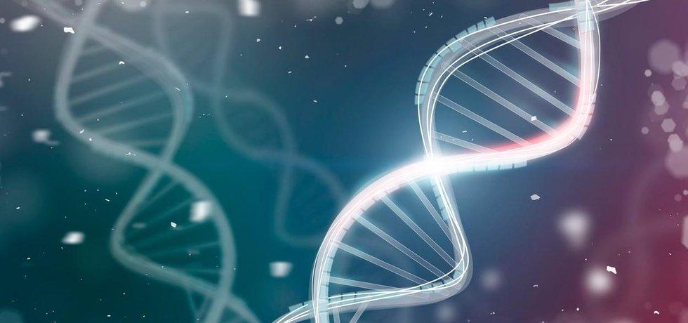 Šroubovice DNA - ilustrační foto