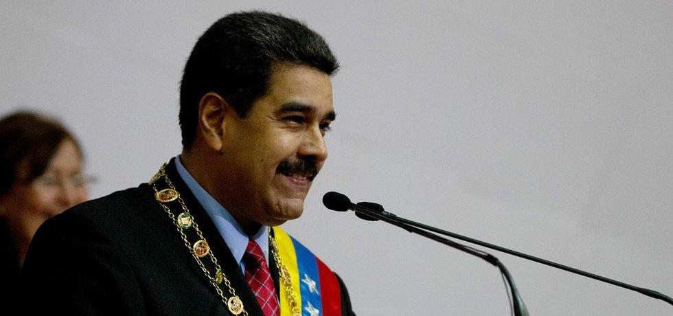 Venezuelský vůdce Nicolás Maduro