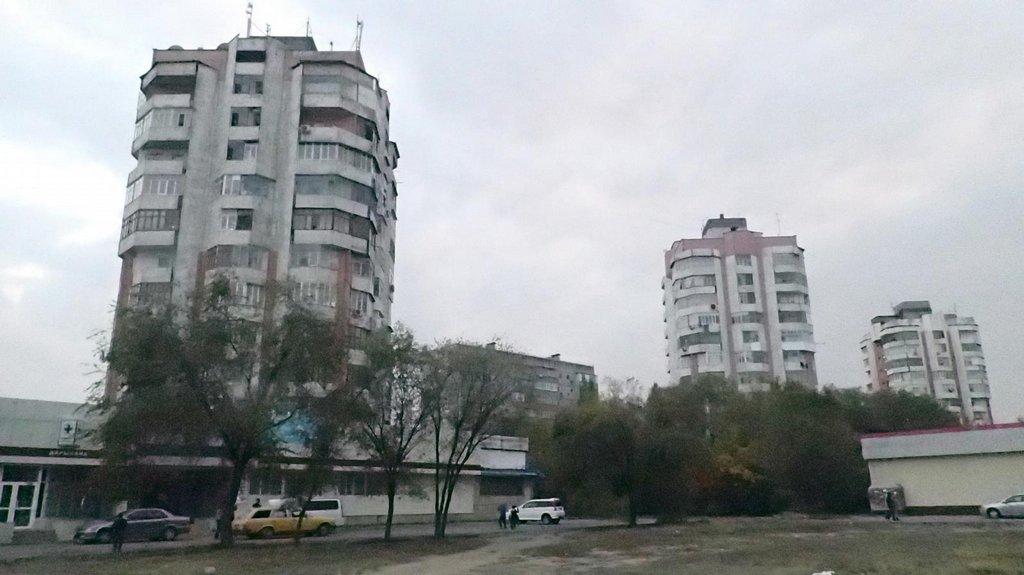 Ranní kocovina a sídliště v Biškeku.