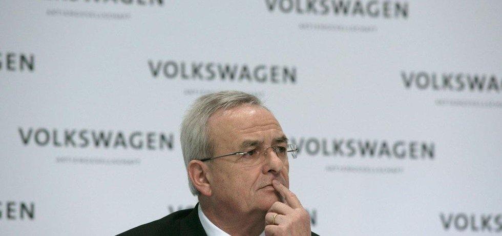 Bývalý šéf automobilky VW Martin Winterkorn.