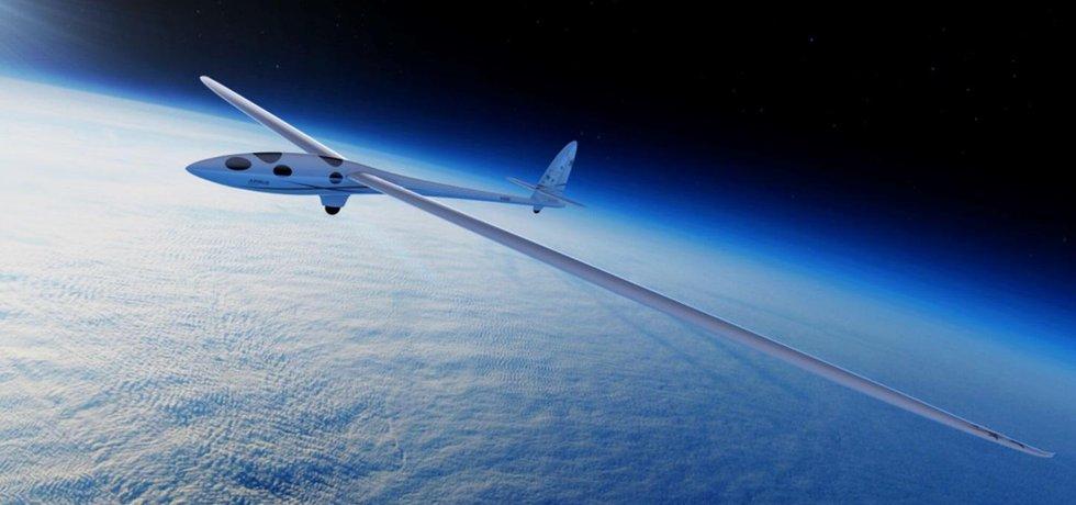 Kluzák Airbus Perlan II.