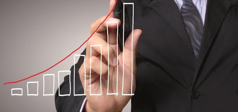 *graf, hospodaření, růst, finance, peníze