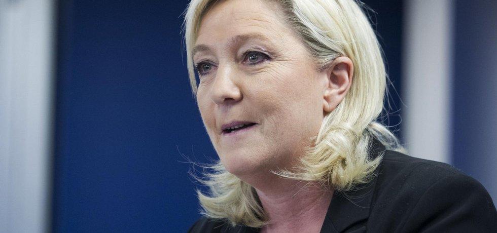 šéfka francouzské Národní fronty Marine Le Penová