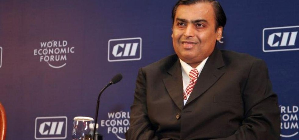 Nejbohatší Ind Mukesh Ambani (Zdroj: World Economic Forum via wikimedia (CC BY-SA 2.0)