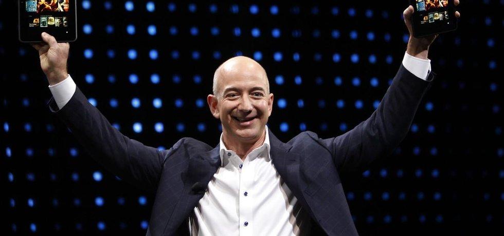 Zakladatel Amazonu Jeff Bezos