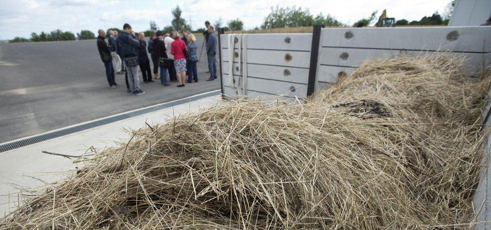 Praha má novou kompostárnu