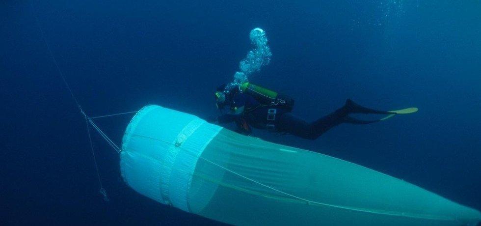 Výzkum planktonu, ilustrační foto