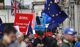 Demonstrace proti brexitu, ilustrační foto