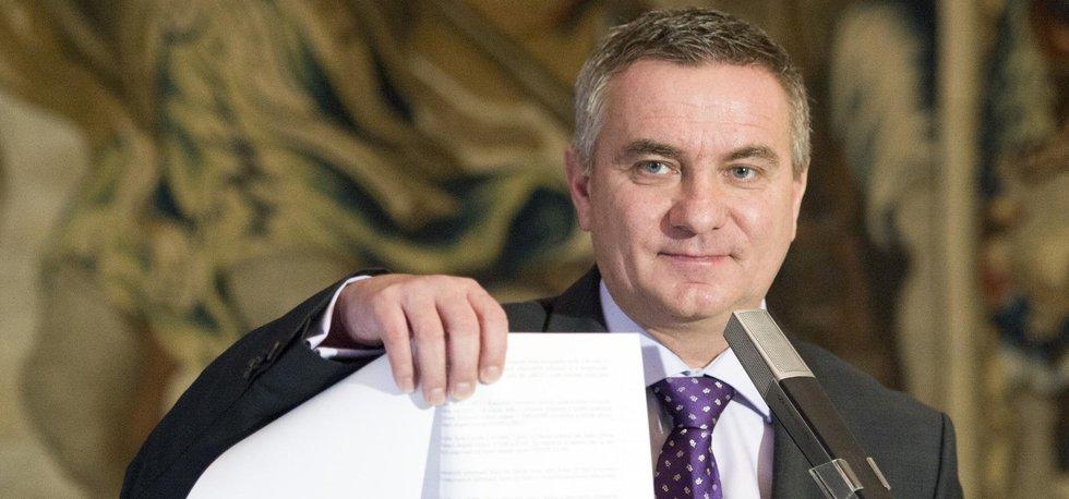 Kancléř Vratislav Mynář požádal o bezpečnostní prověrku