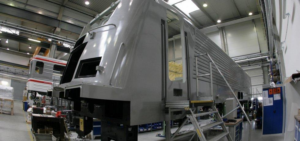 Výroba v Škoda Transportation, ilustrační foto
