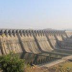 Indická přehrada Sardar Sarovar, od které dala ruce pryč Světová banka.