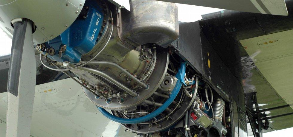 Motor H80 v provozu