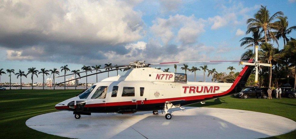 Trump tráví Vánoce v rezortu Mar-a-Lago na Floridě
