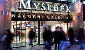 Nakupní centrum Myslbek, ilustrační foto