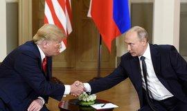 Putin láká Trumpa do Moskvy. Návštěva Ruska by mu prý pomohla ve volební kampani
