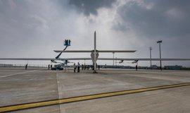 Solar Impulse 2 v čínském Nankingu