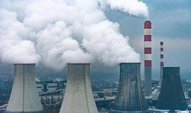 Uhelná elektrárna v Polsku, ilustrační foto