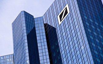 Budova Deutsche Bank ve Frankfurtu
