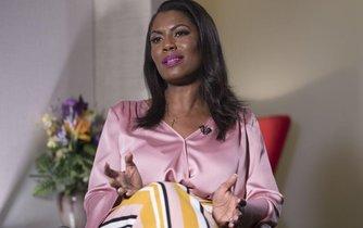Bývalá mediální poradkyně Bílého domu Omarosa Manigaultová Newmanová
