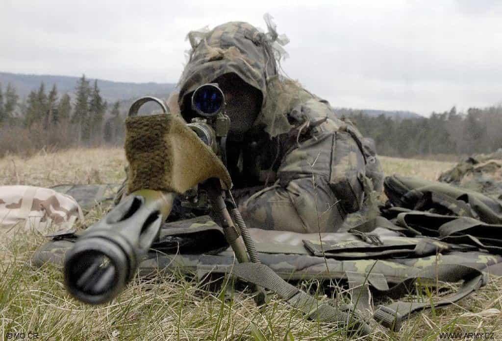 Nové pušky využijí čeští vojáci v zahraničních operacích.