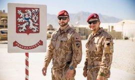 Čeští vojáci na základně v Bagrámu, ilustrační foto