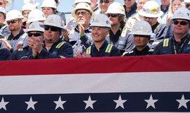 Otevření nového terminálu pro export LNG v Louisianě. Ilustrační foto