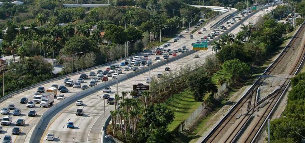 Provoz na dálnici ve Spojených státech (Zdroj: Flickr)