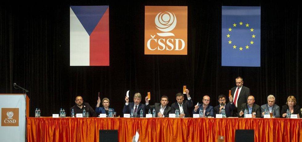 Zasedání ústředního výkonného výboru ČSSD