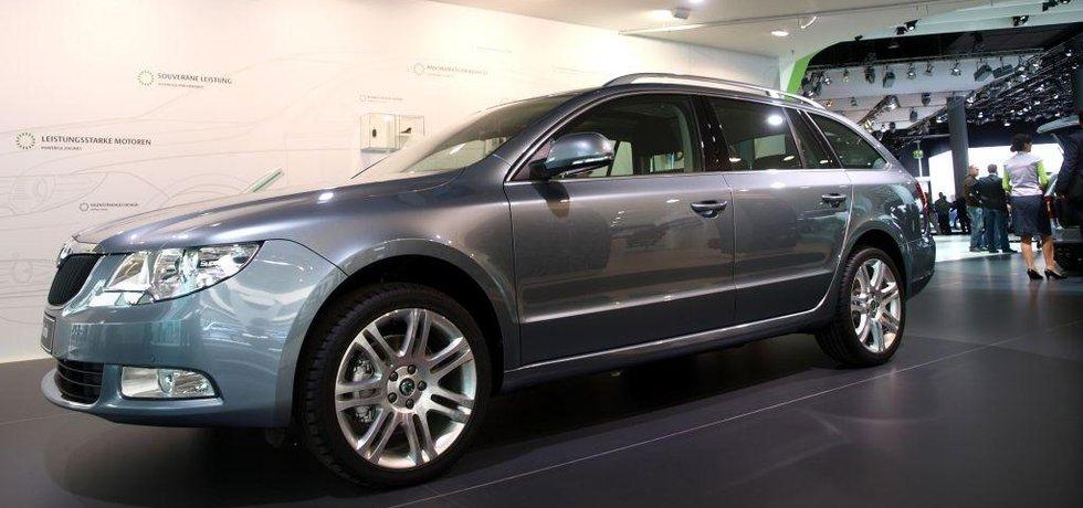 Škoda Superb (ilustrační foto)