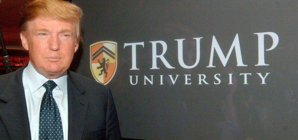 Ambiciózní Trump University skončila fiaskem. A několika žalobami.