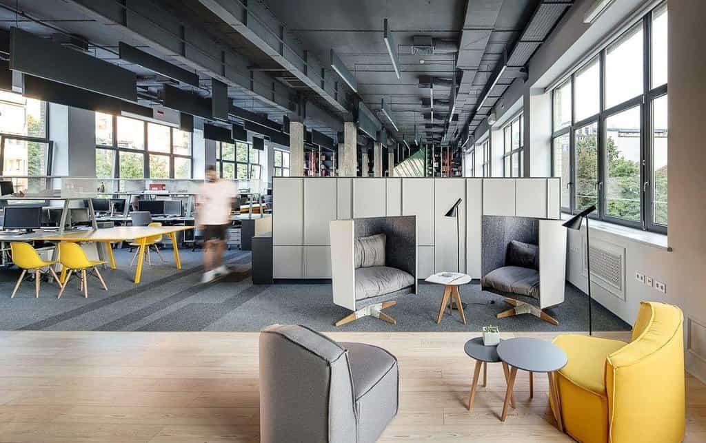 Sdílená kancelář, ilustrační foto