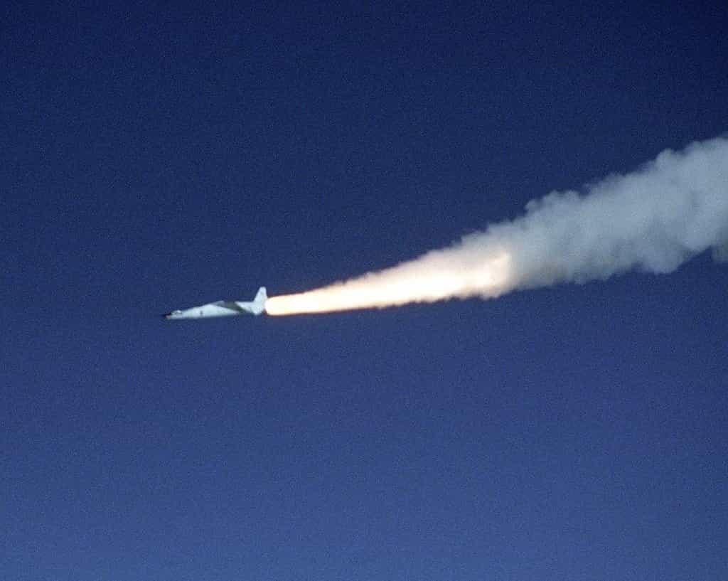 Hypersonické americké letadlo X-43A v roce 2004.