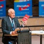 Václav Klaus na předvolební akci AfD