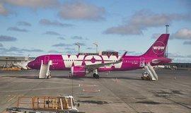 Aerolinky Wow Air, ilustrační foto