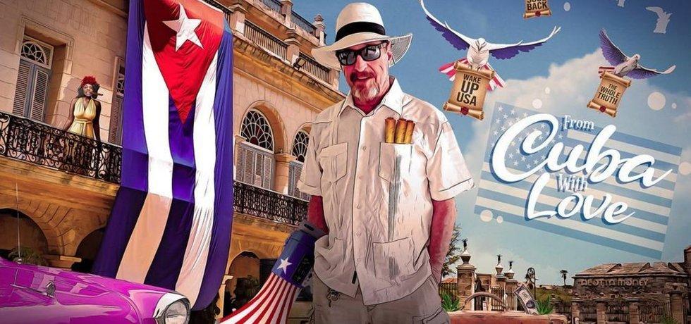 John McAffe vede prezidentskou kampaň z Kuby.