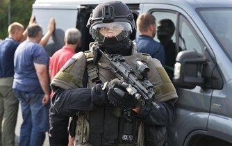 Cvičení policie na odhalování nelegální migrace, ilustrační foto