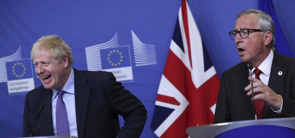 Boris Johnson a Jean-Claude Juncker