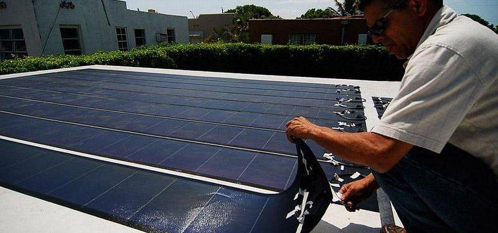 Solární panely SolarCity
