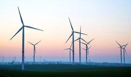 Větrné turbíny v Německu, ilustrační foto