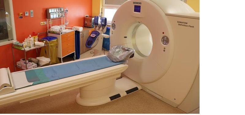 Multidetektorový počítačový tomograf