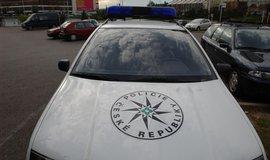 Policejní auto - ilustrační foto