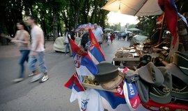 Život v ulicích Bělehradu (ilustrační foto)
