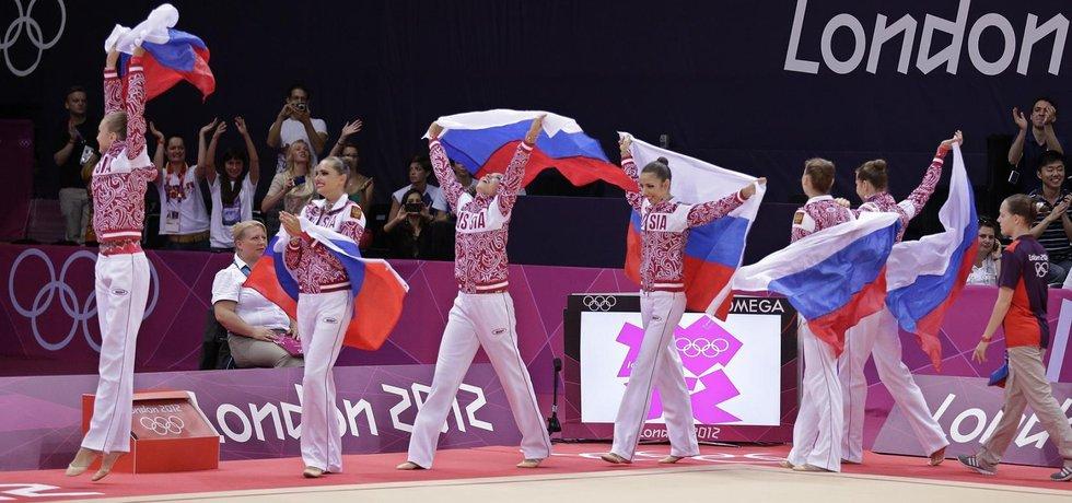 Ruské gymnastky budou moci v Riu obhajovat zlaté medaile z Londýna (Zdroj: čtk)