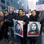 Trumpovi odpůrci protestují v ulicích Washingtonu