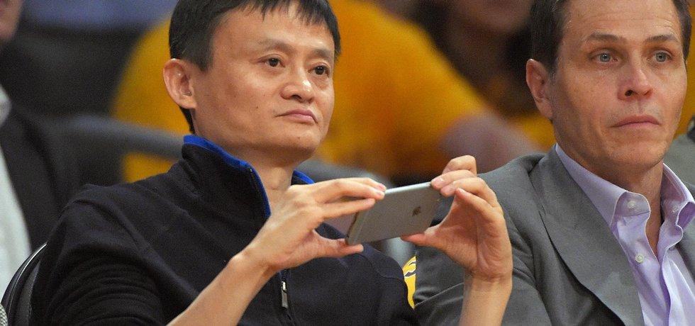 Zakladatel Alibaba Group Jack Ma