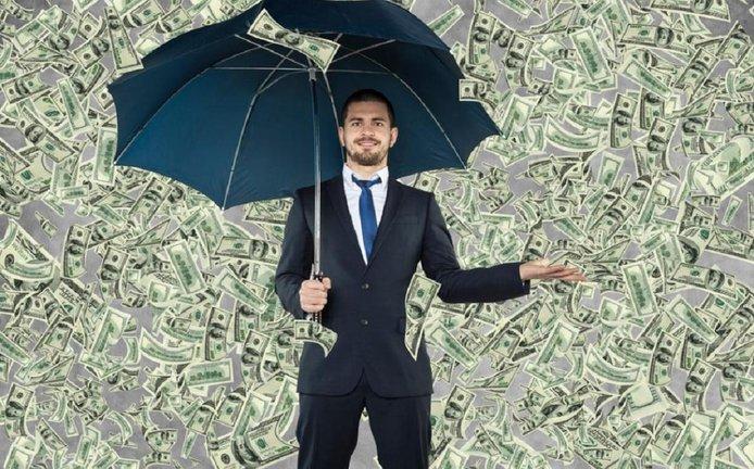 Miliardář, ilustrační foto