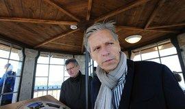 Senátor Jan Horník (STAN) ještě jako starosta Božího Daru