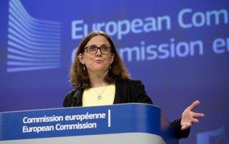 Eurokomisařka Cecilia Malmström