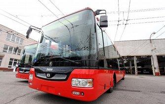 Trolejbusy Škody Electric, ilustrační foto