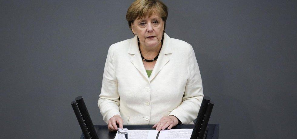 Německá kancléřka Angela Merkelová (Zdroj: čtk)